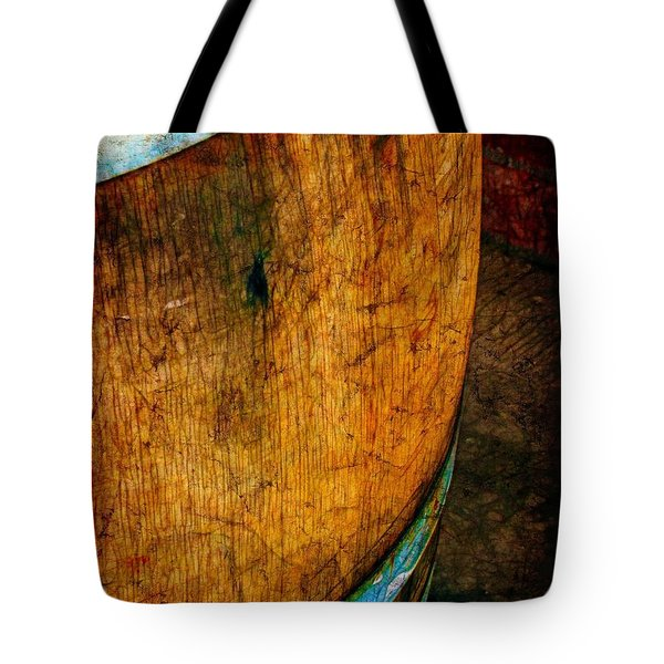 Rain Barrel Tote Bag by Judi Bagwell