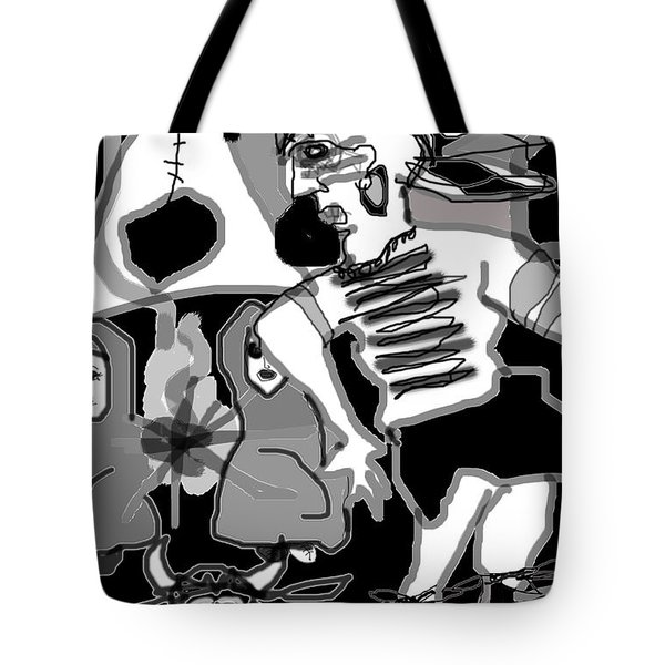 Rain Dance Tote Bag