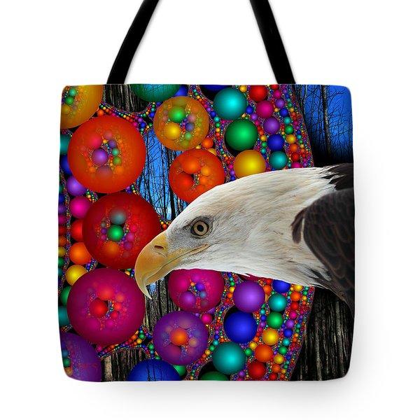 Rain Dance Tote Bag by Robert Orinski