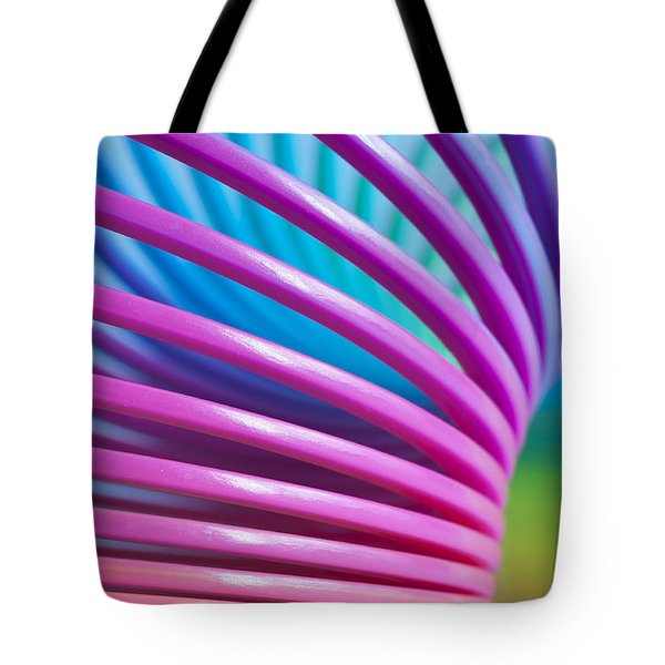 Rainbow 10 Tote Bag by Steve Purnell