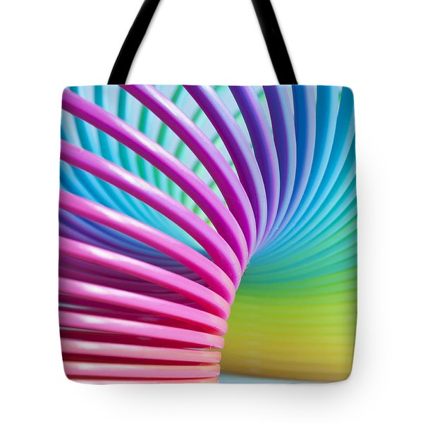 Rainbow 3 Tote Bag by Steve Purnell