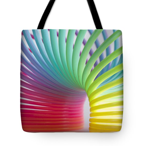 Rainbow 5 Tote Bag by Steve Purnell