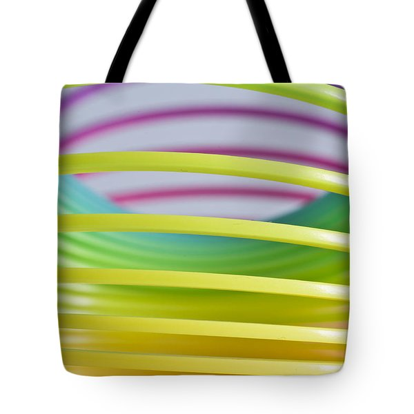 Rainbow 8 Tote Bag by Steve Purnell