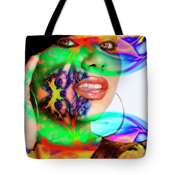 Rainbow Beauty Tote Bag