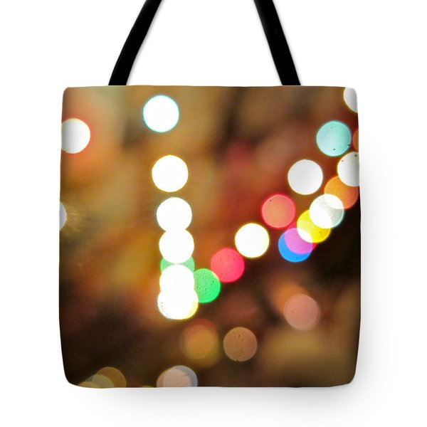 Rainbow Brights Tote Bag