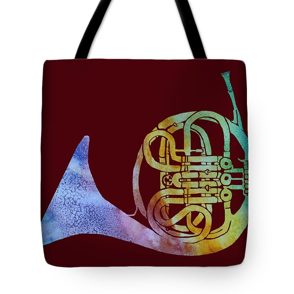 Rainbow Frenchhorn  Tote Bag