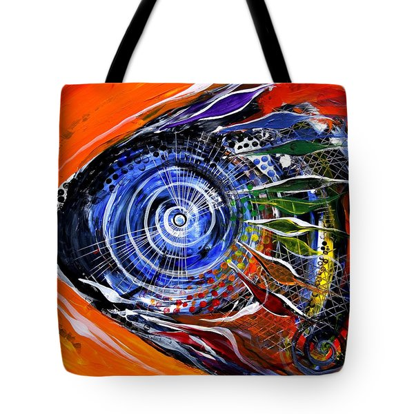 Rainbow Left ... Again Tote Bag