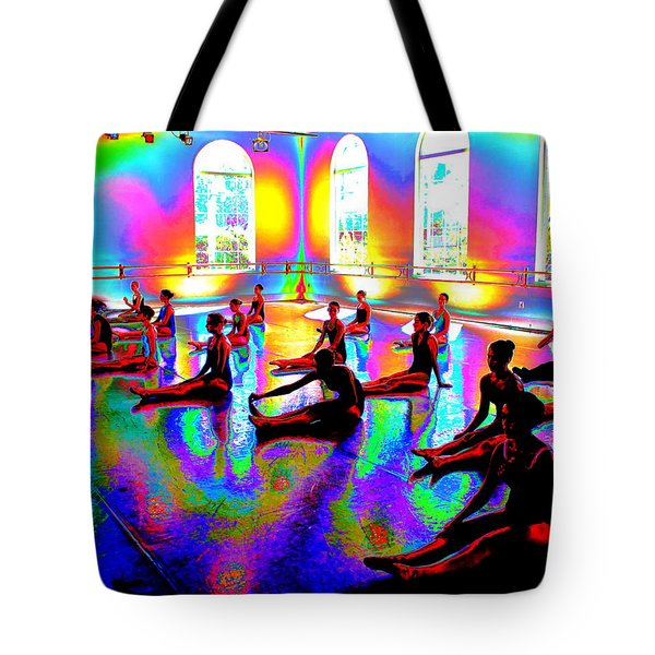 Rainbow Room Tote Bag