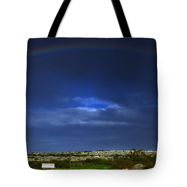 Rainbow Tote Bag by Stelios Kleanthous