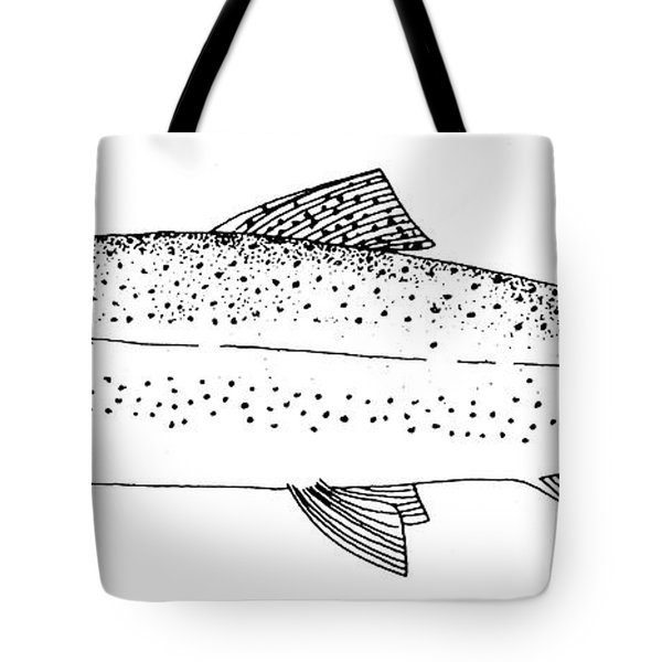 Rainbow Trout Tote Bag by Granger