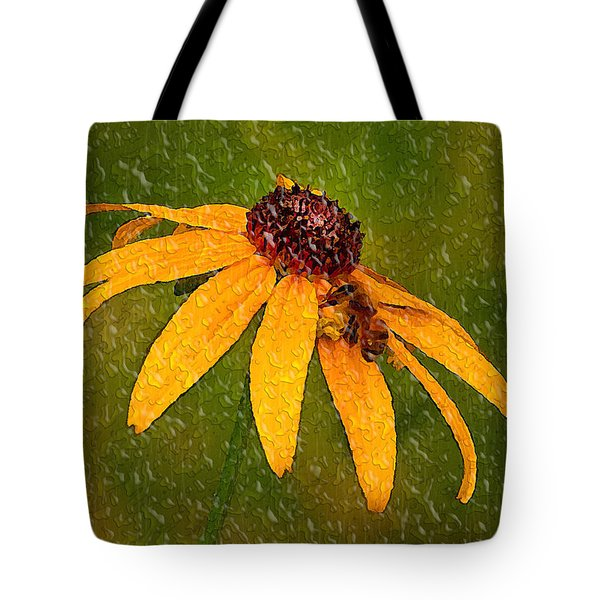 Rained Upon Tote Bag