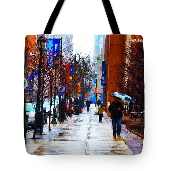 Rainy Day Feeling Tote Bag by Bill Cannon