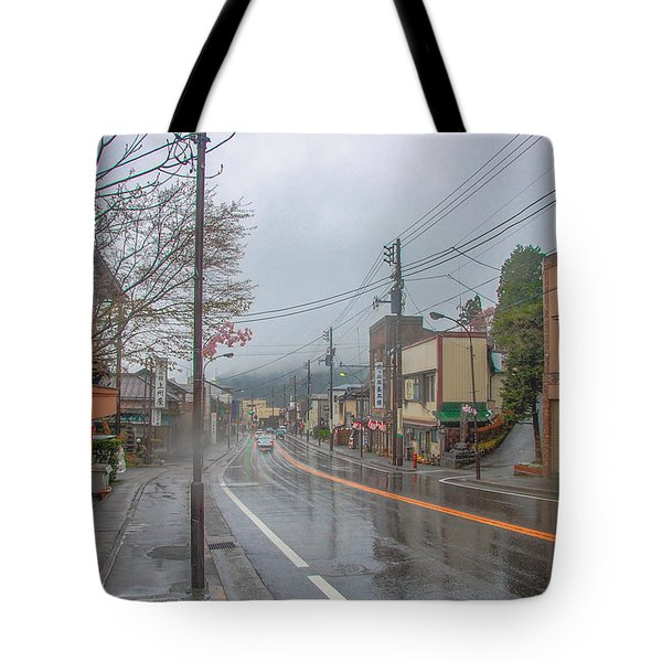 Rainy Day Nikko Tote Bag