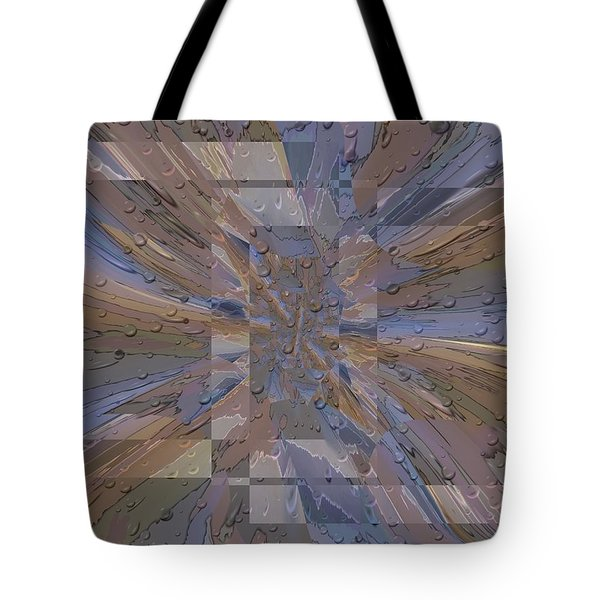 Rainy Day Portal 1 Tote Bag by Tim Allen