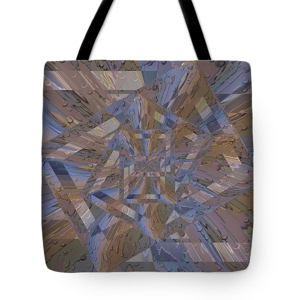 Rainy Day Portal 4 Tote Bag by Tim Allen
