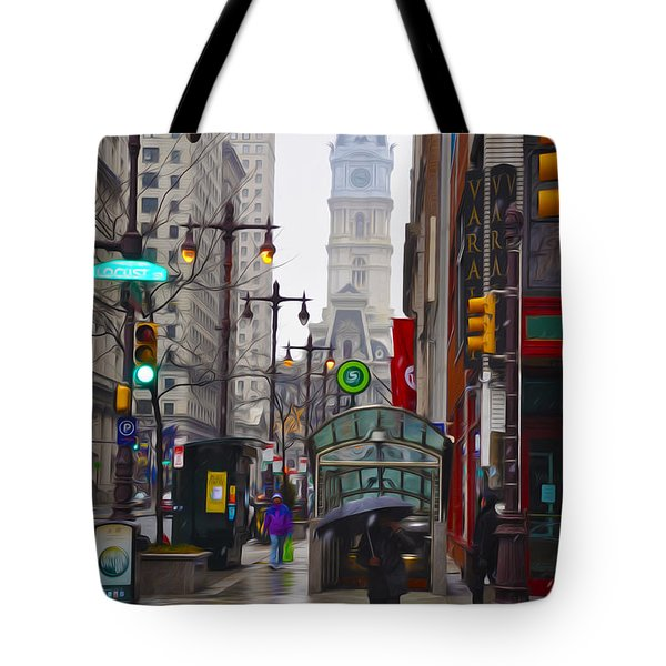 Rainy Days And Sundays Tote Bag by Bill Cannon