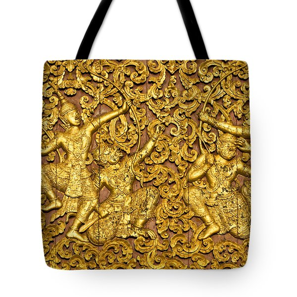 Tote Bag featuring the photograph Ramayana by Luciano Mortula