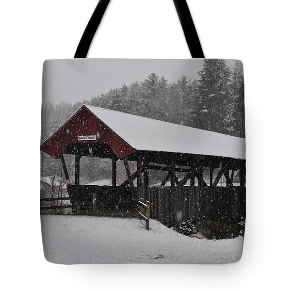Randall Bridge Tote Bag