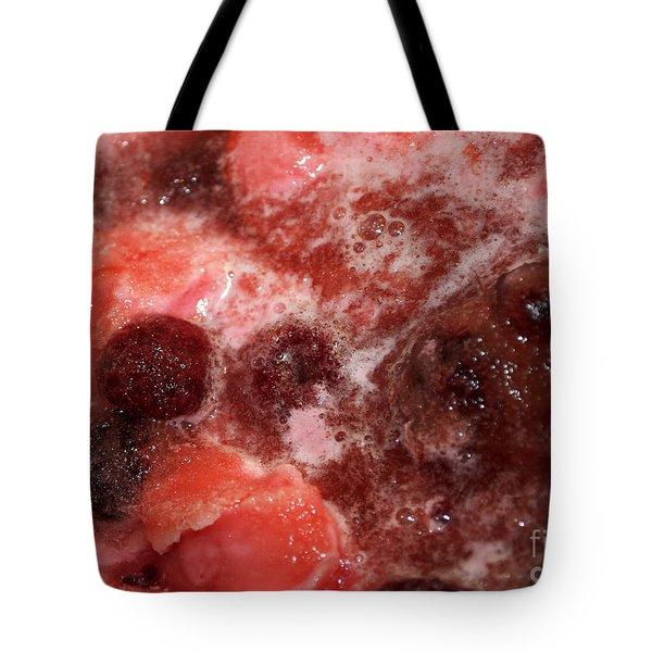 Raspberry Sherbet Punch Tote Bag by Gwyn Newcombe