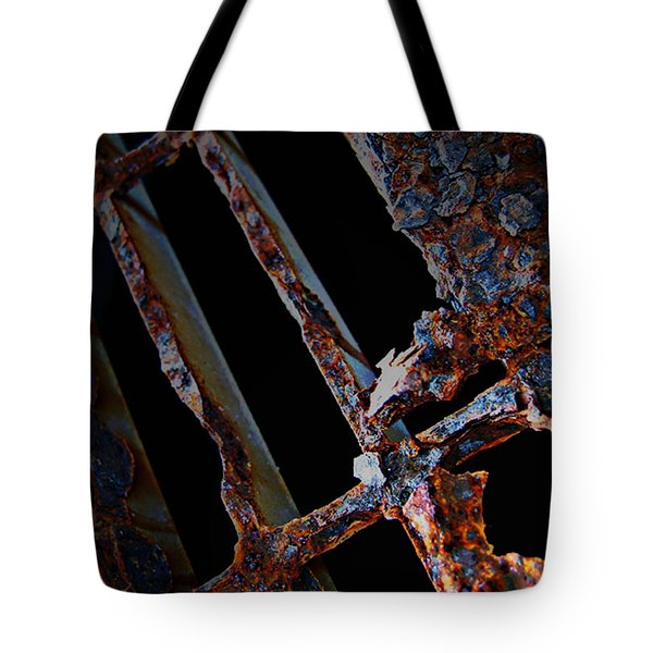 Rat In The Cage Tote Bag by Empty Wall