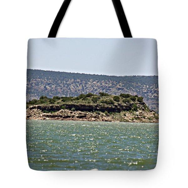 Rattlesnake Island Tote Bag