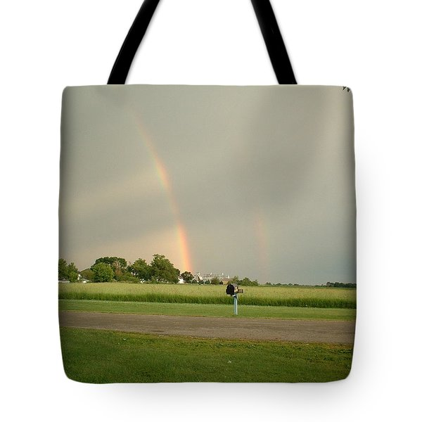 Ray Bow Tote Bag