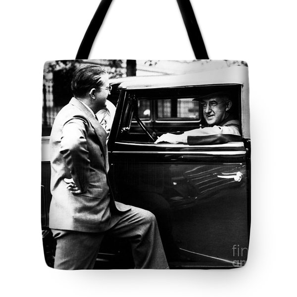 Raymond Moley (1886-1975) Tote Bag by Granger