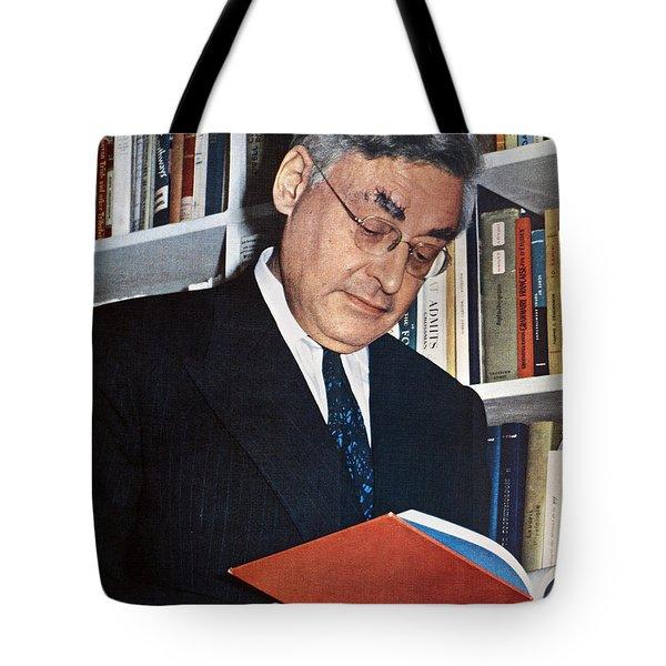 Raymond Queneau (1903-1976) Tote Bag by Granger