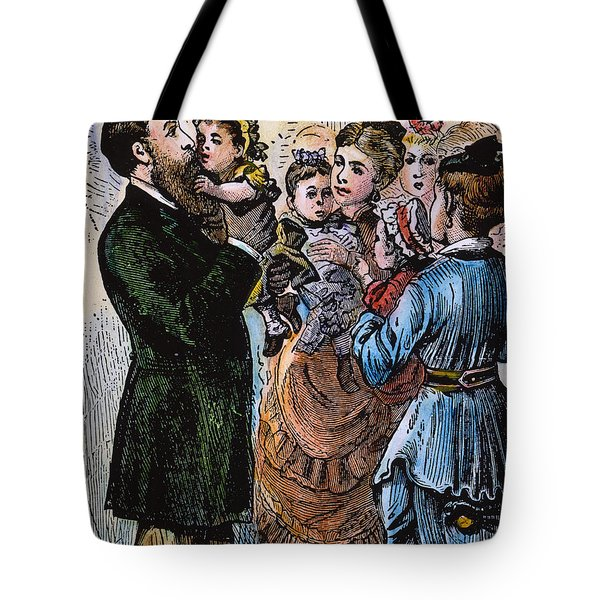 R.b. Hayes: Campaign, 1876 Tote Bag by Granger