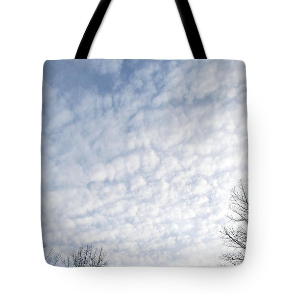 Tote Bag featuring the photograph Reaching The Clouds by Pamela Hyde Wilson