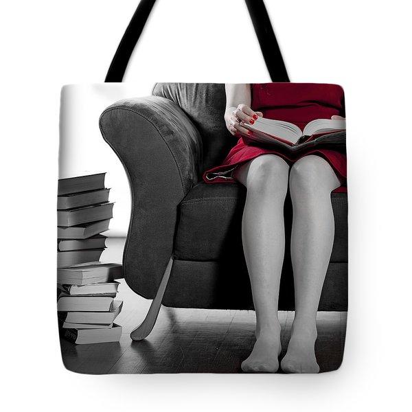Reading Tote Bag by Joana Kruse