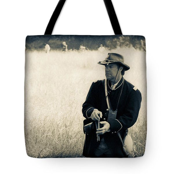 Ready The Revolver Tote Bag by Kim Henderson