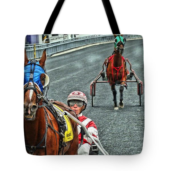 Tote Bag featuring the photograph Ready To Race by Alice Gipson