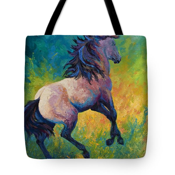 Rearing To Go Tote Bag