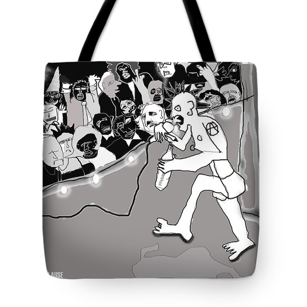 Rebel Without Applause Tote Bag