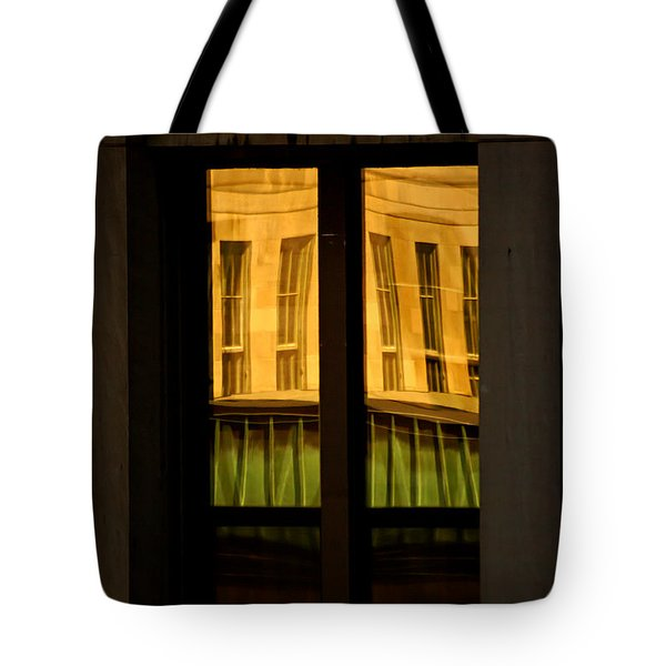 Rectangular Reflection Tote Bag by Aimelle