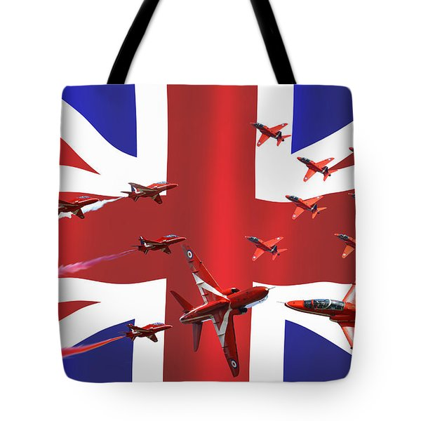 Red Arrows Union Jack Tote Bag