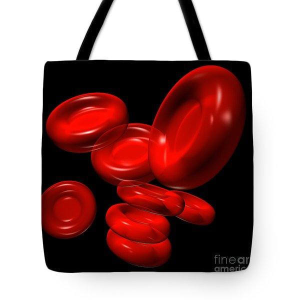Red Blood Cells 2 Tote Bag