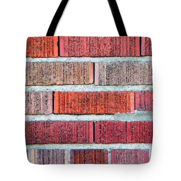 Red Brick Wall Tote Bag