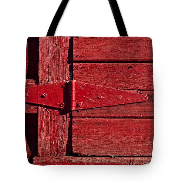 Red Door Henge Tote Bag by Garry Gay