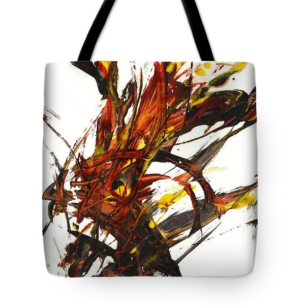 Red Flame II 65.121410 Tote Bag