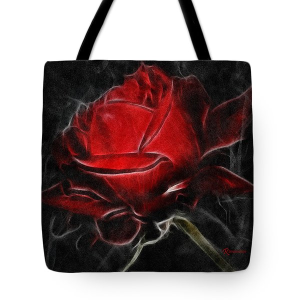 Red And Hot  Tote Bag