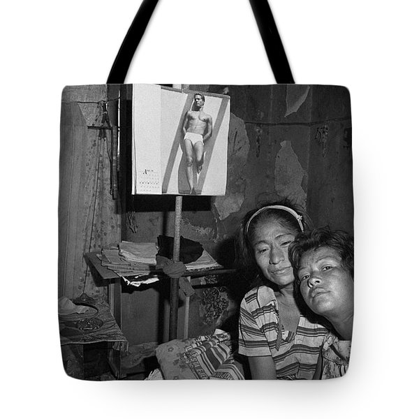 Red Light District Tote Bag by Michael Mogensen