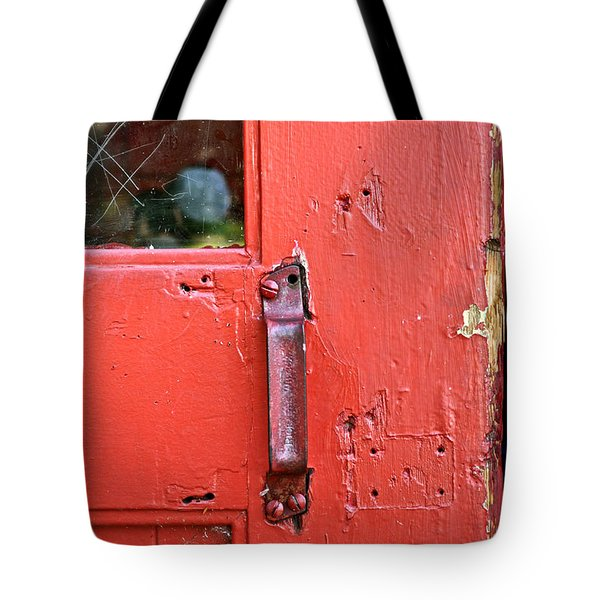 Red Of Course Tote Bag by Gwyn Newcombe