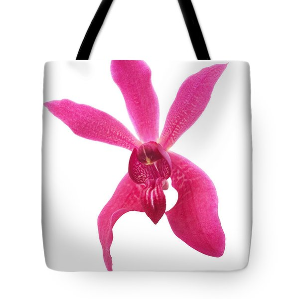 Red Orchid Head Tote Bag by Atiketta Sangasaeng