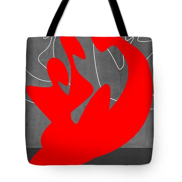 Red People Tote Bag