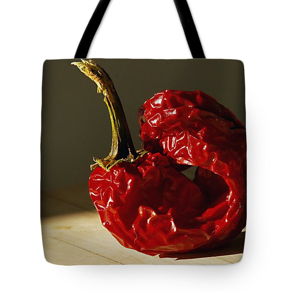 Tote Bag featuring the photograph Red Pepper by Joe Schofield