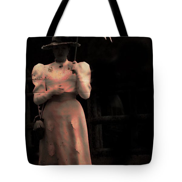 Red Rain  Tote Bag by Empty Wall
