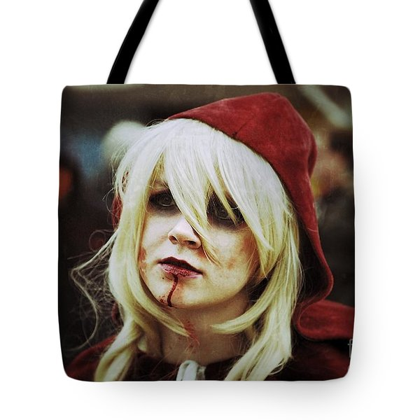 Red Riding Hood Zombie  Tote Bag