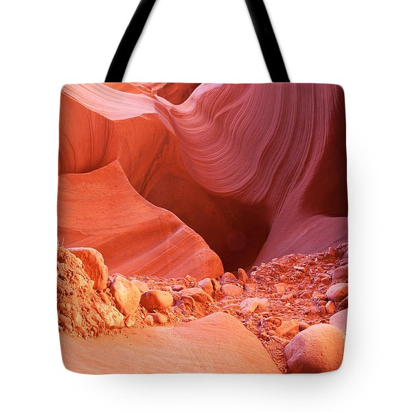 Red Rock Gems Tote Bag by Bob and Nancy Kendrick